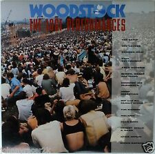 WOODSTOCK The Lost Performances Laserdisc LD Blood Sweat & Tears Canned Heat Etc