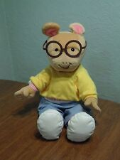 """Microsoft Actimates Arthur Interactive Talking Plush Toy Sounds 22"""" Tested"""