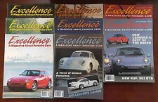 Porsche Excellence Magazine  - The Complete Year 1994 - 8 Complete Issues