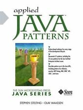 Applied Java Patterns by Olaf Maassen and Stephen A. Stelting (2001, Paperback)