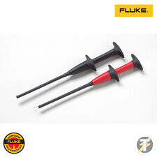FLUKE AC283 SUREGRIP PINCER CLIP RED AND BLACK SET