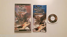 MONSTER HUNTER PORTABLE PSP GAME JAPANESE VERSION
