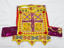 Kuchi Afghan Tribal Belly Dancing Handmade ATS Choli TOP Vintage Crop TOP CT-014
