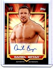 WWE Daniel Bryan 2011 Topps Classic Authentic Autograph Card YES! YES! YES!