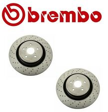 Set of 2 Disc Brake Rotors Brembo 09A30011 For: Lexus IS F 5.0L 2008 - 2014