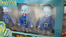 Living Dead Dolls Mini 3 pack Munchkins 4 inch Lost in Oz new in box not opened