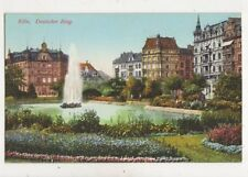 Koeln Deutscher Ring Germany Vintage Postcard 944a
