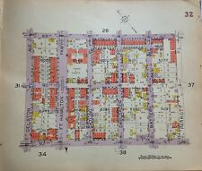 1929 BELCHER HYDE BAY RIDGE FT. HAMILTON GELSTON-PARROTT BROOKLYN NY ATLAS MAP