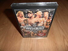 WRESTLEMANIA 22 XXII wwe 3 dvd BRAND NEW FYE EXCLUSIVE SEE NO EVIL POSTER