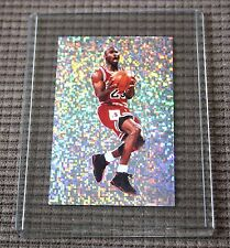 Michael Jordan Panni 1992 AUTHENTIC Reflective Sparkle sticker card Very Rare