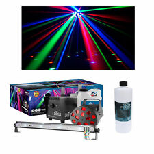 Chauvet DJ Lighting JAM Pack Diamond  Strobe Mushroom Light Fog Machine w/ Fluid