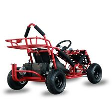 Electric Racing Outdoors Go Kart 48v 1000w Kids Quads Off Road Go Kart Red Cart
