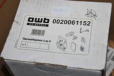 AWB GLOW-WORM 0020061152 SOLAR KIT THERMOELEGANCE 3 UND 4 NEU