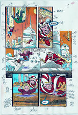 GREEN LANTERN COMICS #38 PRODUCTION ART ORIGINAL PAGE #3 SIGNED ANTHONY TOLLIN