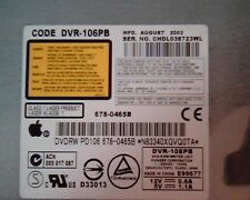 Apple Code DVR-106PB August 2003 678-0465B DVDRW PD106 Pioneer Writer Drive