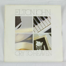 Elton John - Cry To Heaven - Musica Vinile Record 30.5cm