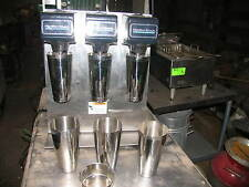 Hamilton Beach 950 Commercial Milkshake Machine 3 head 3 speed cups and collar