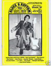 MAGAZINE BLUES & RHYTHM GOSPEL TRUTH No 34 JANUARY 1988 LARRY DALE