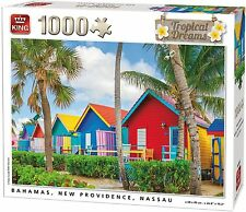 1000 Piece Jigsaw Puzzle - BAHAMAS CHALETS New Providence Tropical Dreams 05382