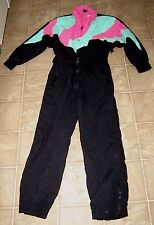 WHITE STAG Vintage 1980s Womens One Piece Ski Snow Suit Board THINSULATE Sz 10