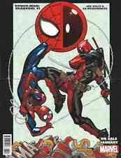 SPIDERMAN DEADPOOL 1 RARE GIVEAWAY PROMO 2 SIDED POSTER ROCKET RACCOON GROOT NM