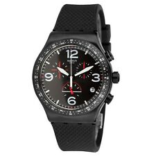 NEW 2016 WATCH SWATCH BLACK IS BACK YVB403 OROLOGIO SWISS MADE IRONY CHRONO
