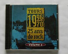 V/A 1970-1996, 25 ans de rock a Tours (Vol.2) RARE CD PRIVATE Neuf / Sealed