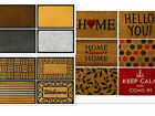 Modern Colourful Patterned Entrance Indoor Outdoor Coir Rubber Door Mats