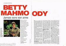 Coupure de presse Clipping 1992 (4 pages) Betty Mahmoody