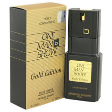 One Man Show Gold Cologne By Jacques Bogart Men Perfume EDT Spray 3.4 oz 100 ml