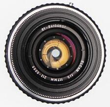 Leitz Elcan 117mm f5 Hasselblad F mount  #2120088