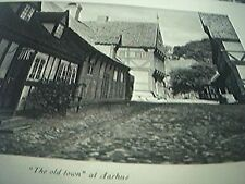 picture 1949 denmark old town at aarhus