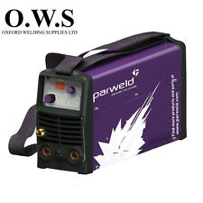 Parweld XTT182DV 180A DC Tig Inverter c/w Torch + Regulator