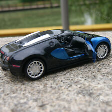 Bugatti Veyron 1:32 Alloy Diecast Model Cars Sound&Light Blue Collections&Gifts