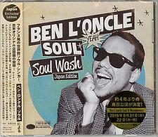 BEN L'ONCLE SOUL-SOUL WASH JAPANESE ORIGINAL EDITION-JAPAN CD E25