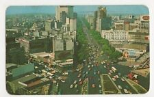 Mexico, The Reforma 1971 Postcard, B271