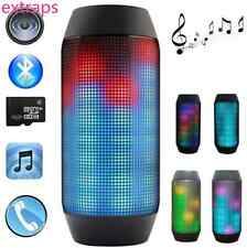 Colorful LED Wireless Bluetooth Speaker Portable Bass Subwoofer for Smartphone E