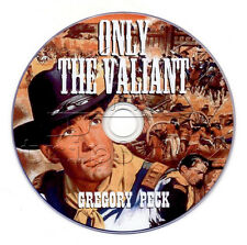 Only the Valiant (1951) Gregory Peck, Barbara Payton Western Movie / Film on DVD