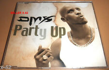 DMX rap CD single PARTY UP instrumental VIDEO + SLIPPIN def jam release 4 track
