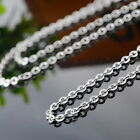 1PC Jewelry Rolo Chain Necklace Findings For Necklace Pendant Stainless Steel