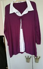 ladies 2 in 1 top size 16/18