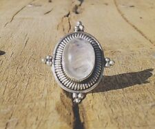 SALE Sterling Silver & Moonstone Ring, Boho, Gypsy Jewellery | Was $40, Now $35