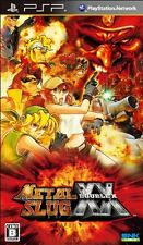 Used PSP Metal Slug XX  Japan Import ((Free shipping))