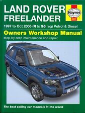 Land Rover Freelander 1997-2006 petrol & diesel Haynes workshop manual