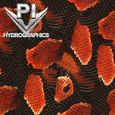 HYDROGRAPHIC FILM HYDRO DIPPING WATER TRANSFER PRINT HYDRO DIP RED COBRA AP-109