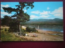 POSTCARD INVERNESS-SHIRE LOCH MORLICH & THE CAIRNGORM MOUNTAINS