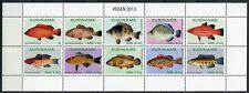 SURINAM 2013 Fische Poissons Pesci Kleinbogen ** MNH