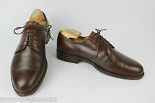 Derby BALLY Made in France Tout Cuir Marron Goodyear UK 8 / FR 42 BE