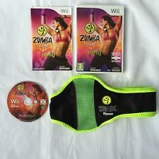 Zumba Fitness Nintendo Wii With Official Belt COMPLETE