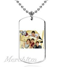 Big Time Rush - Colgante, Dog Tag, Placa militar, C